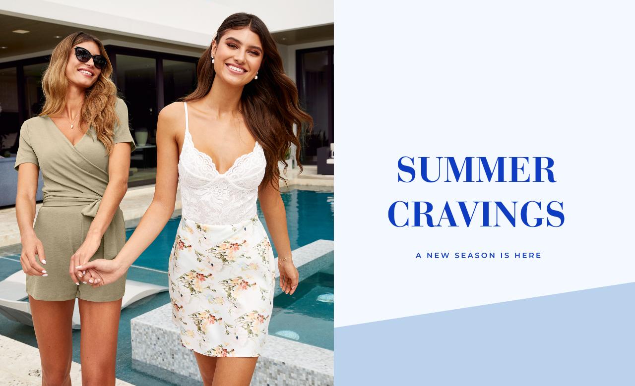 Sommeren nyheter er her! Jumpsuits, toppe og blomstermønster