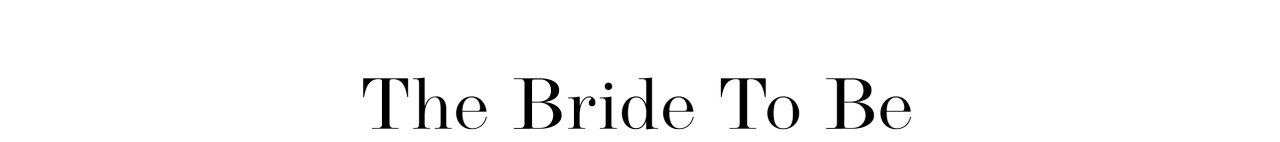 Bride To Be - shop din brudkjole her