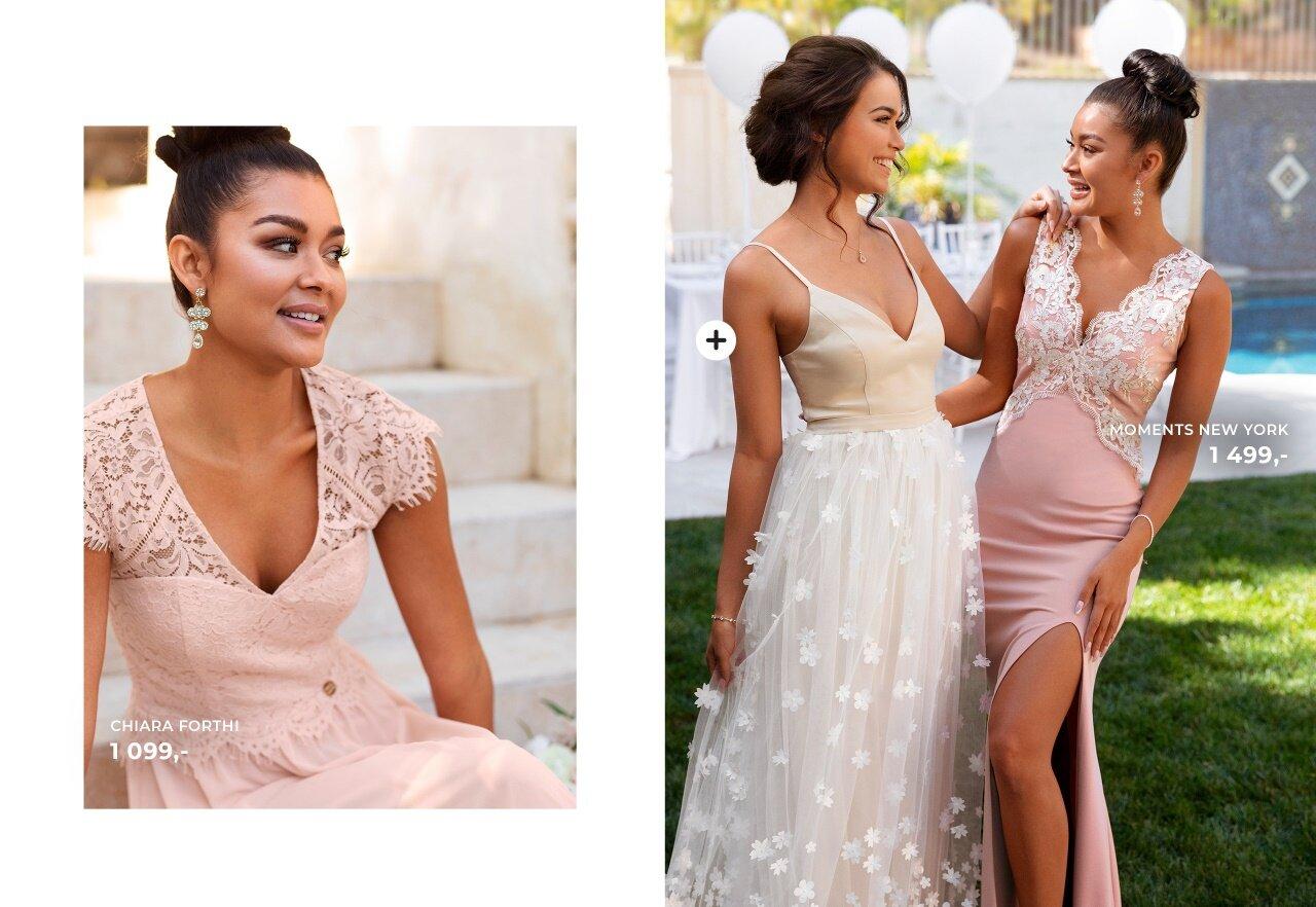 Vakker brudepikekjoler fra Chiara Forthi og Moments New York
