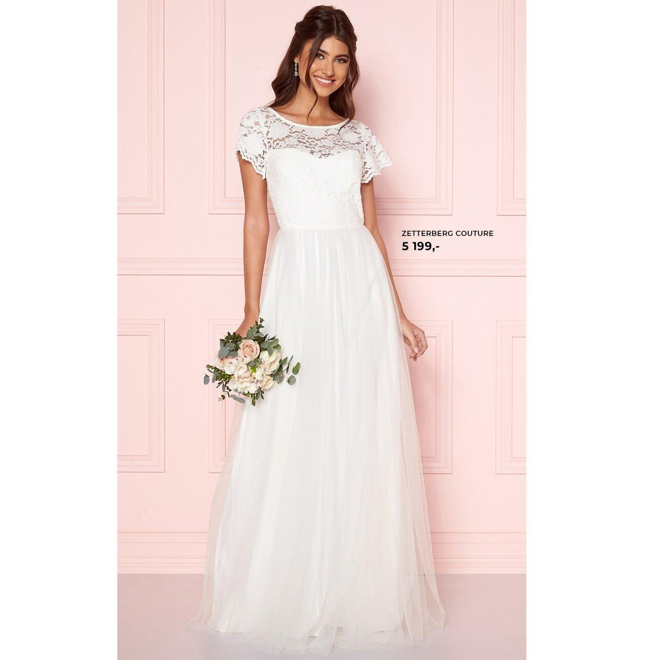 Zetterberg Couture bröllopsklänning