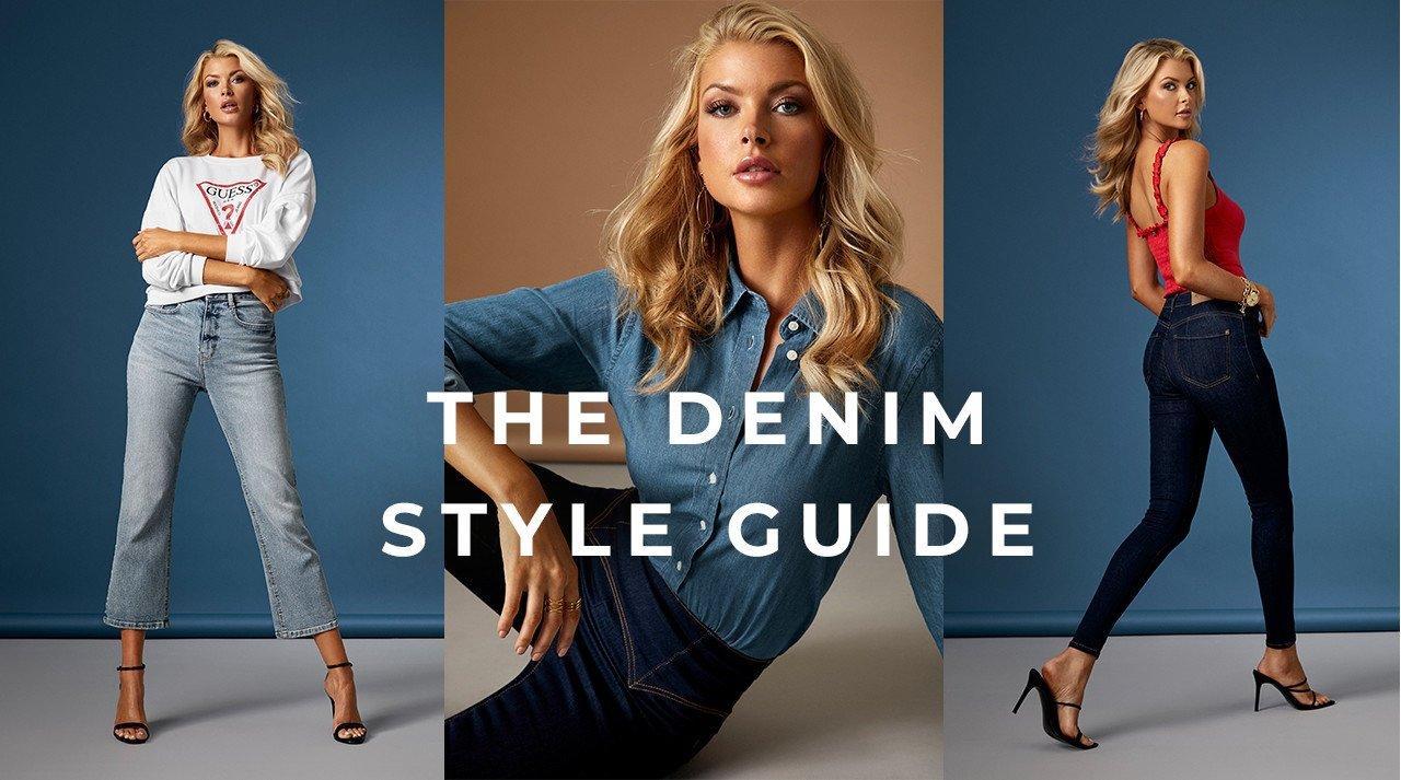 Straight leg jeans, cropped jeans, jeans med høy midje - shop denimnyheter nå