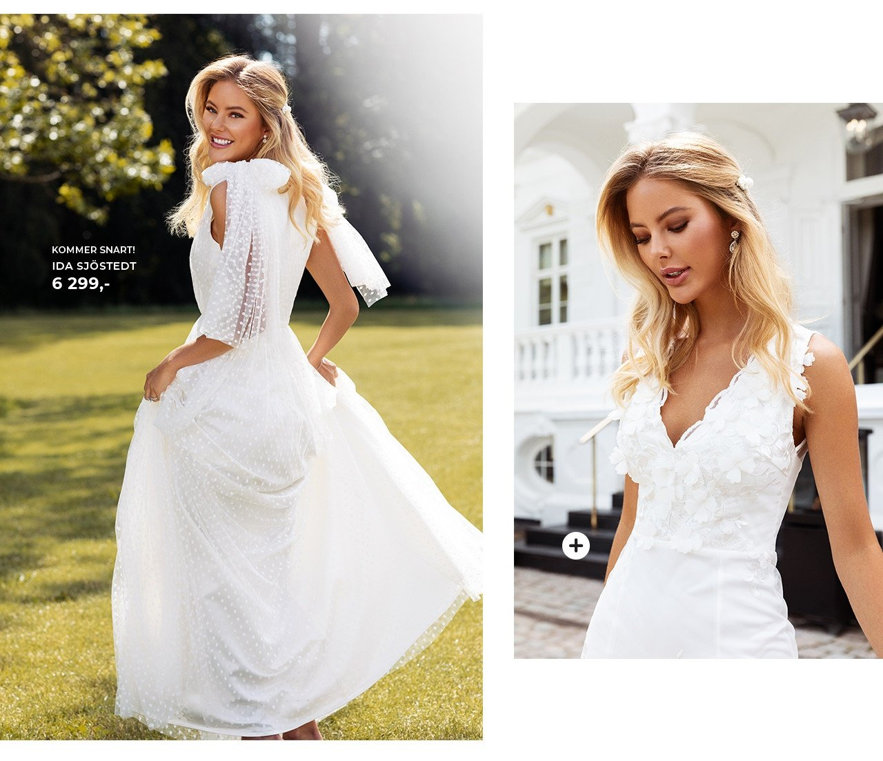 vakre brudekjoler på nettet fra Moments New York