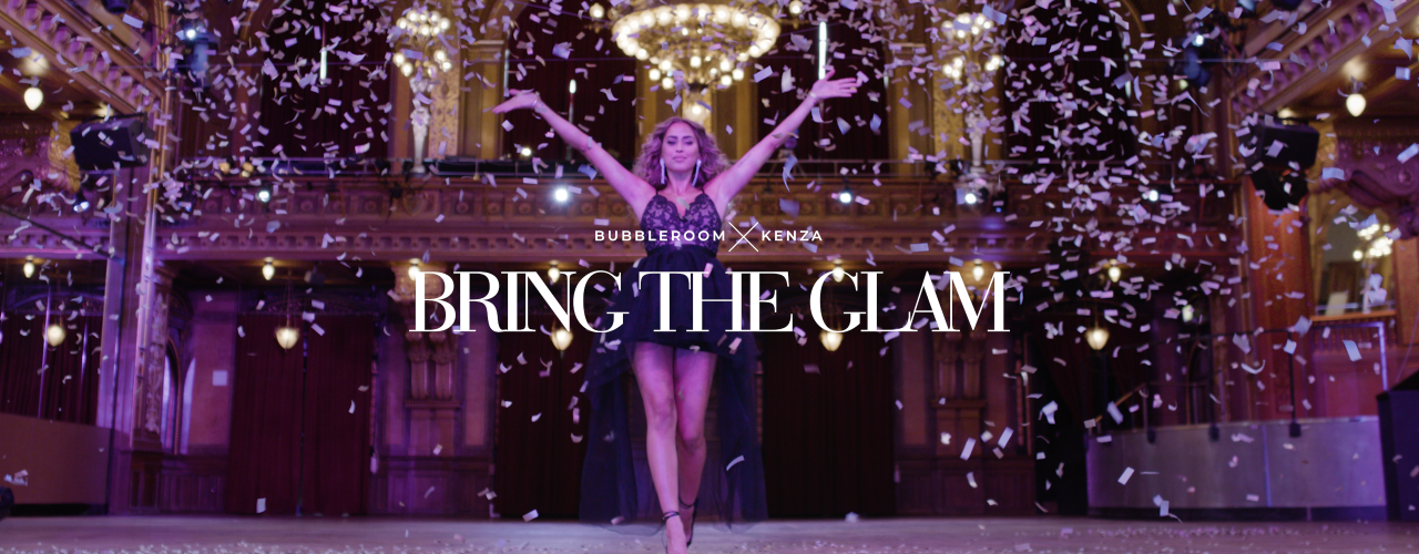Bring the glam - Bubbleroom x Kenza - Shop her
