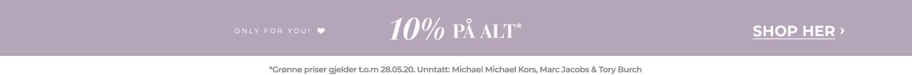 10% på alt
