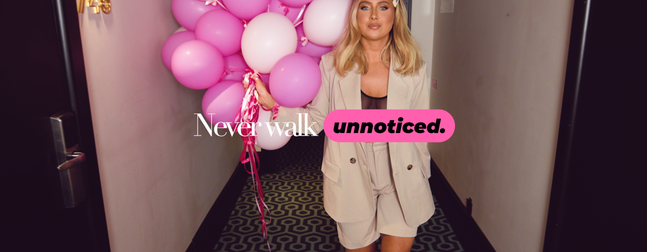 Never walk unnoticed - Se historien her