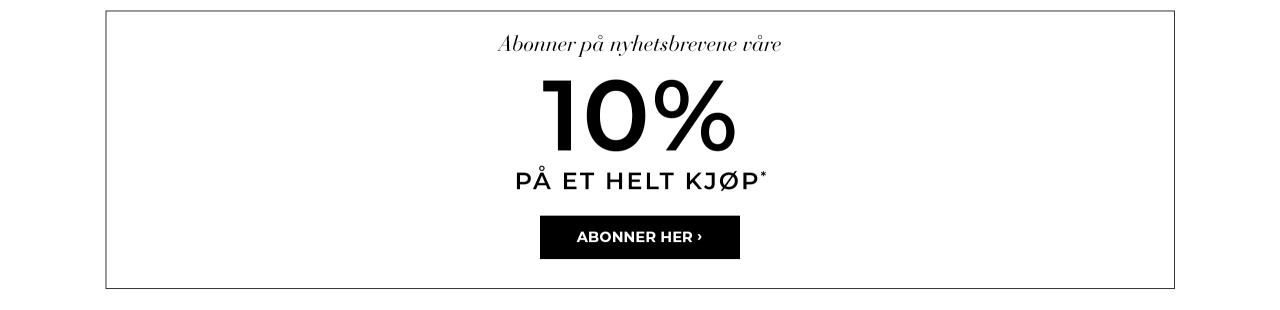 Bubbleroom rabatt - 10 % på et helt kjøp*