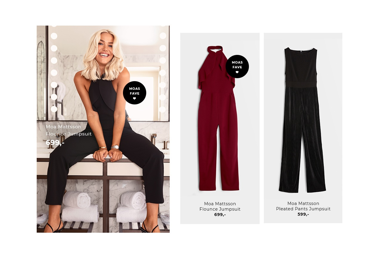 Shop Moa Mattssons favorittplagg - Jumpsuiten!