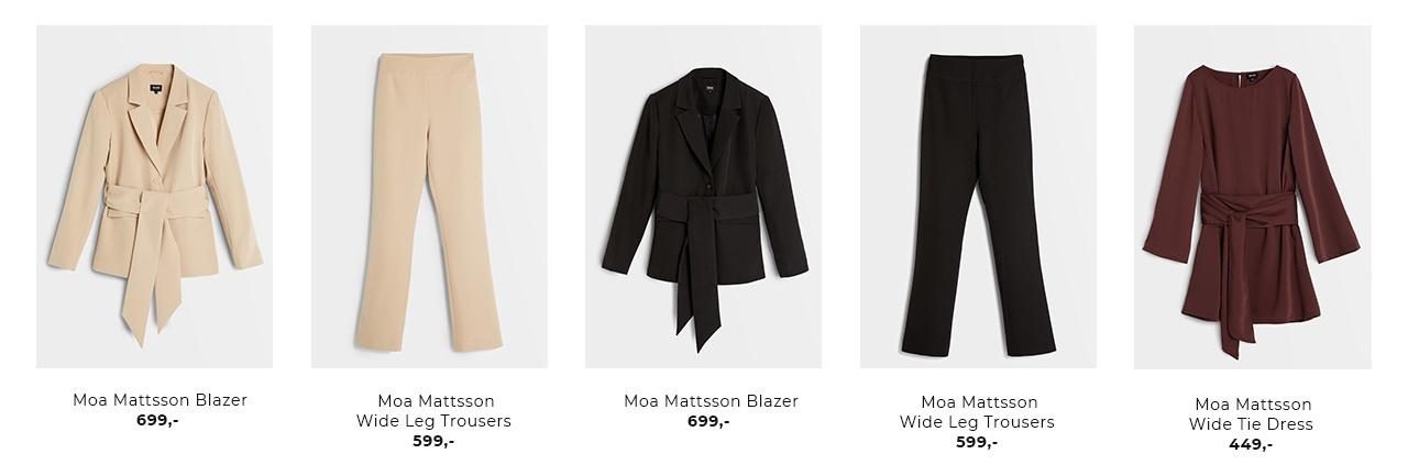 Moa Mattsson X Bubbleroom - Shop nu