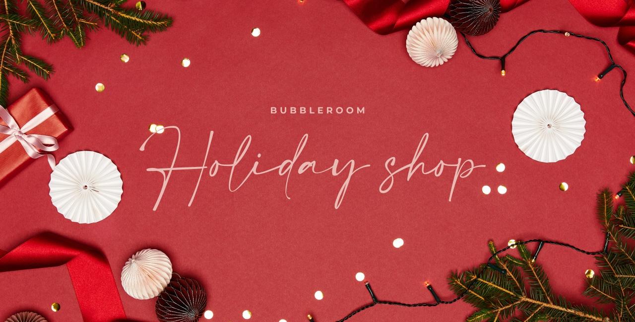 Bubbleroom holiday shop - Shop her