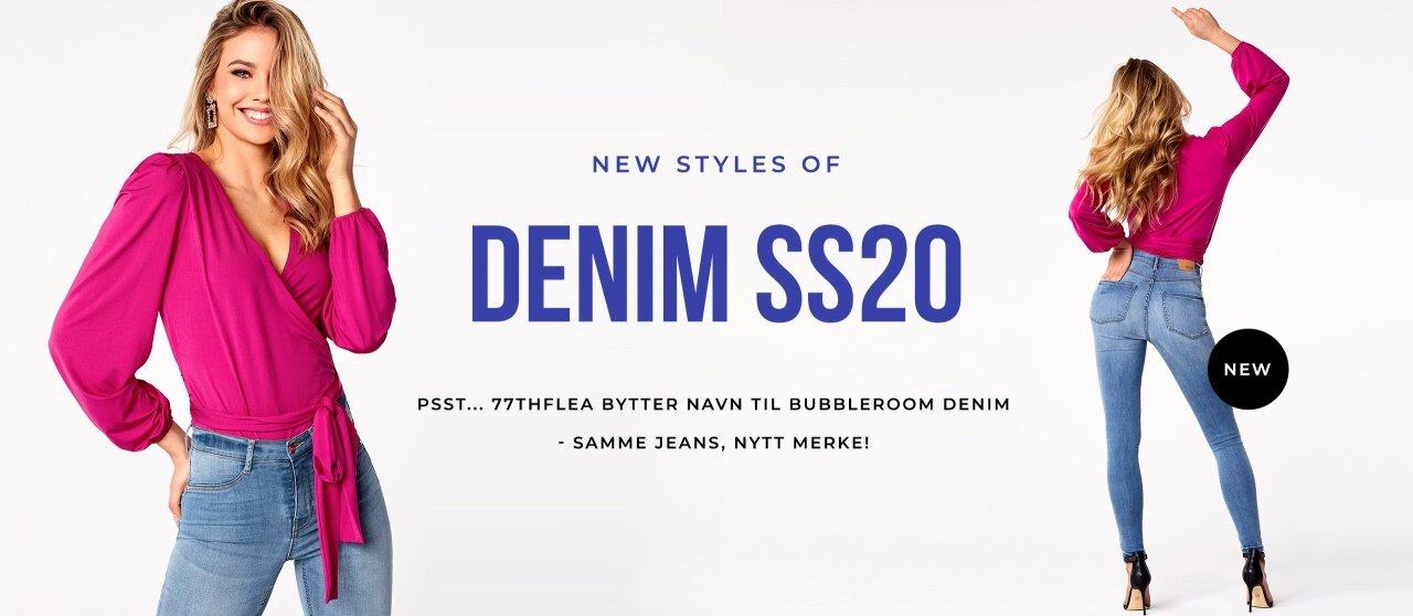 Samme jeans - nytt merke 77thFlea bytter navn til Bubbleroom Denim