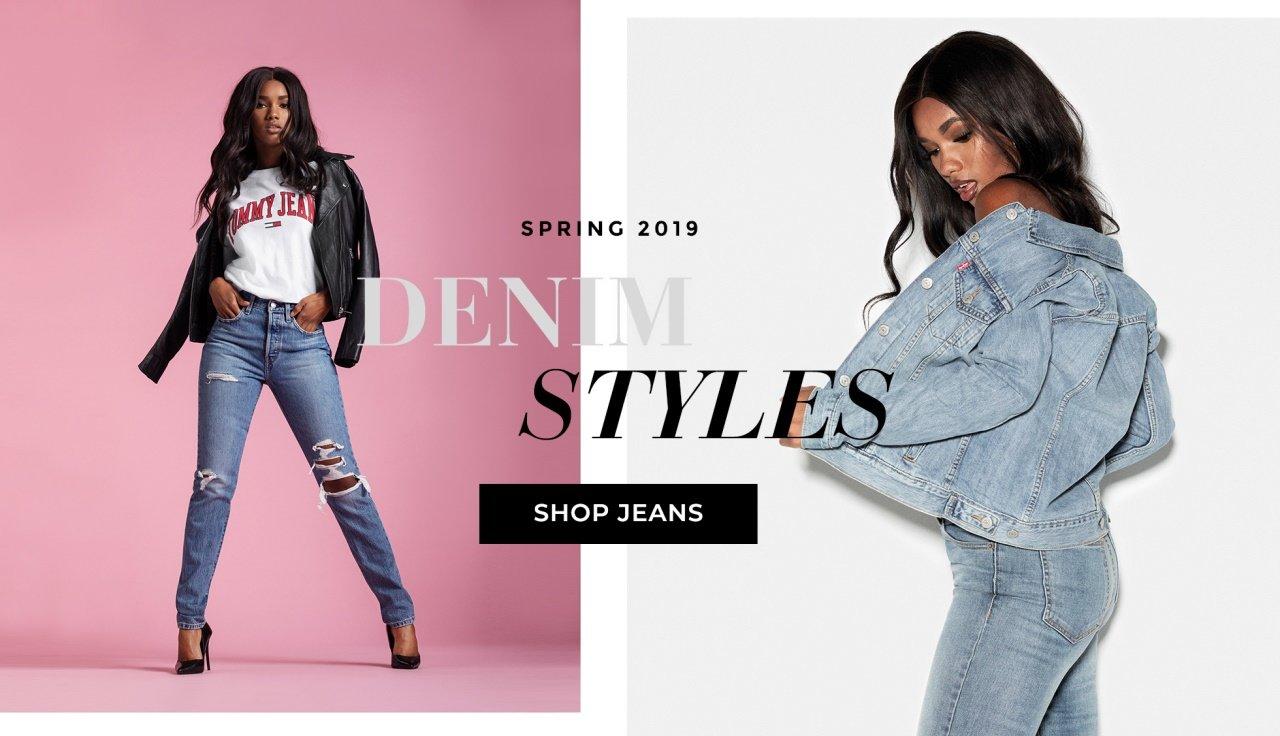 Shop fine jeans