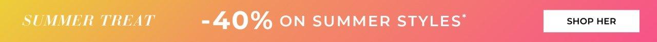Shop summerstyles med 40% rabatt
