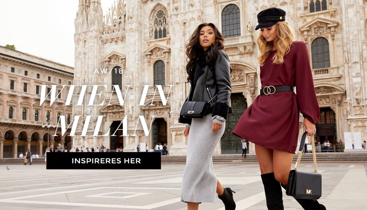 When in milan - Shop nyheter