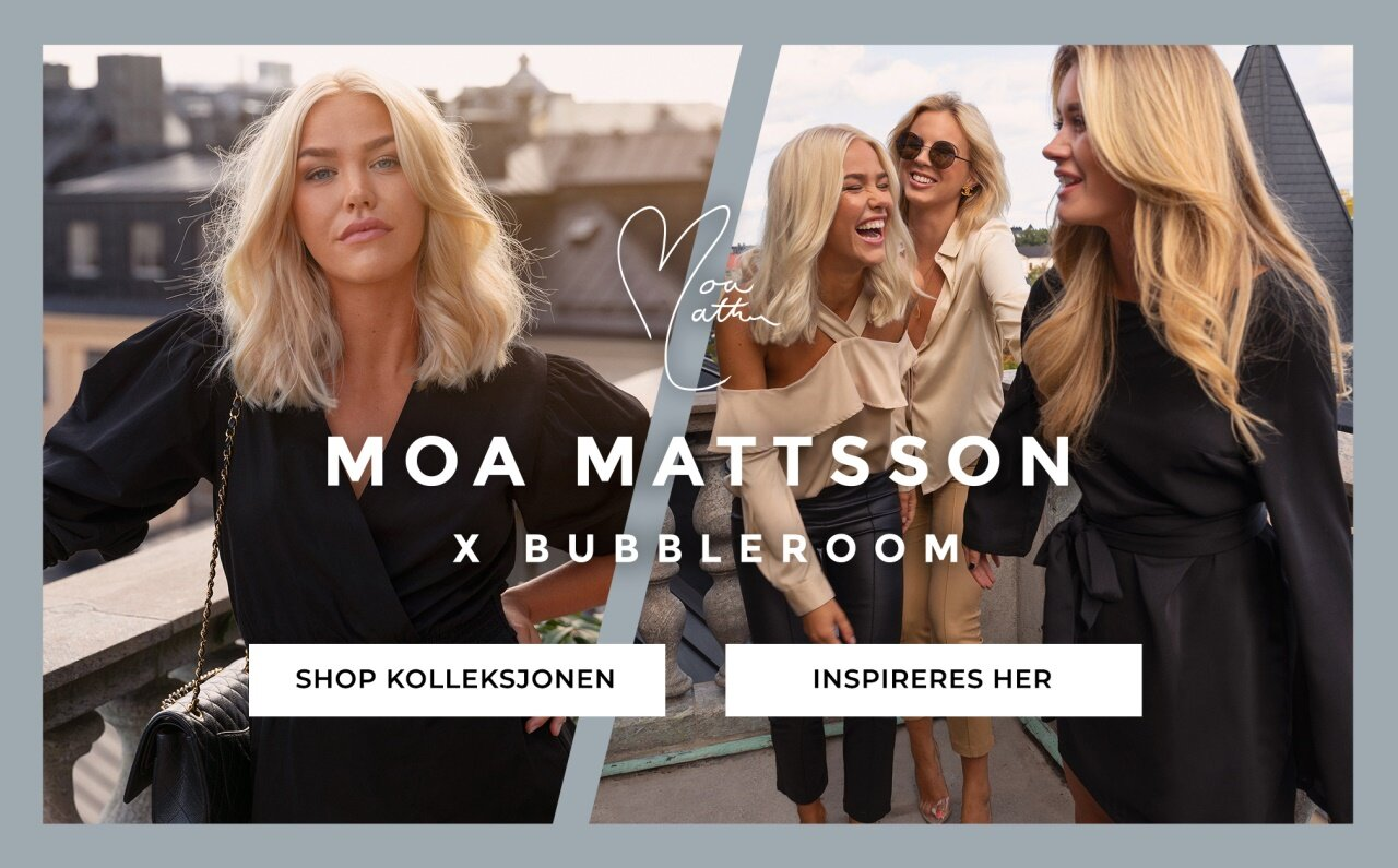 Shop kolleksjonen: Moa Mattsson x Bubbleroom