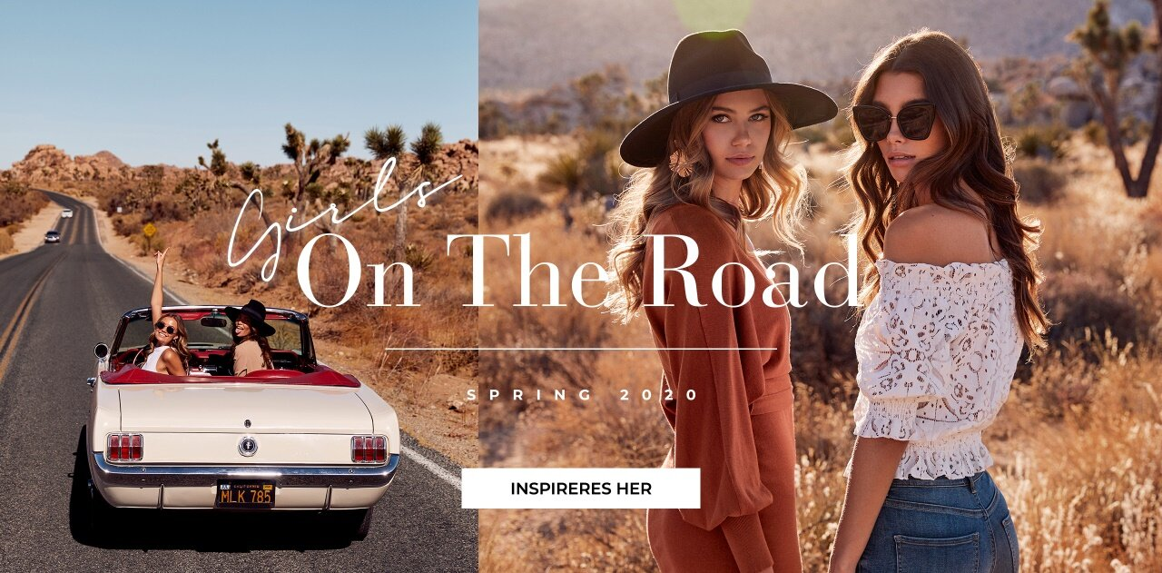 Girls on the road - Shop her!
