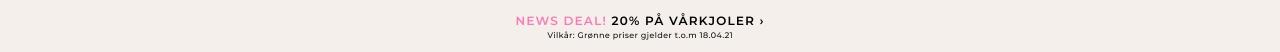 20% på kjoler - Shop her