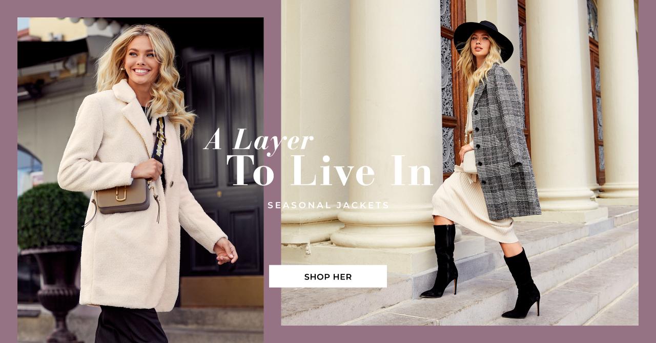 Shop jakker og frakker fra Bubbleroom