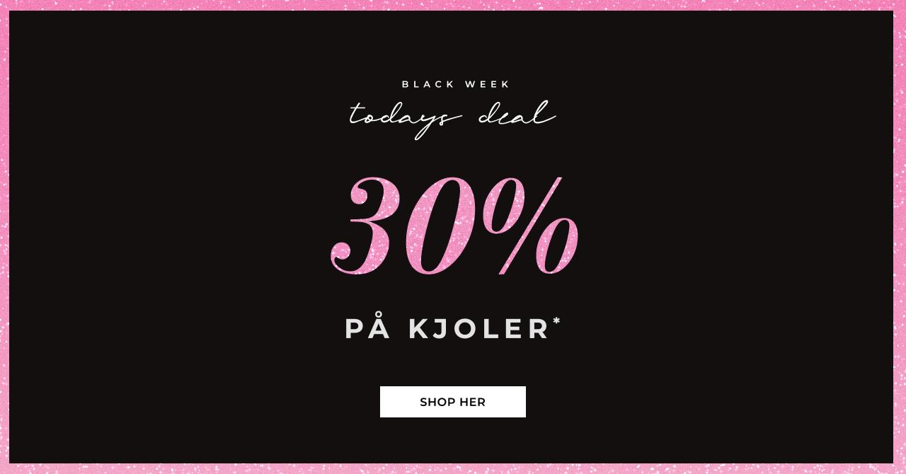 Bubbleroom Black Week - 30% på kjoler - Shop her
