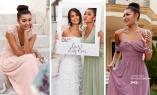 Elegante, lange kjoler som passer godt bryllup