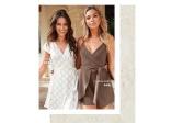 Chiara Forthi Sonnet mini wrap dress og Chiara Forthi Betty Playsuit