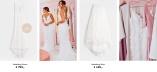 Nicole Falciani designed Wedding Dress and Skirt