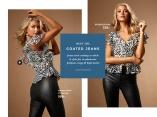 Coated jeans snygga till fest som jobbetflatterende coated jeans perfekte til hverdag og fest