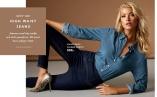 High Waist Jeans - Superbehagelige jeans med høyt liv