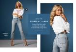 Klassiske jeans med rette ben