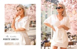 finn den perfekte hvite kjolen på Bubbleroom