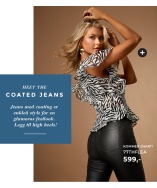 Nyhet! Bianca Coated Jeans fra 77thFlea