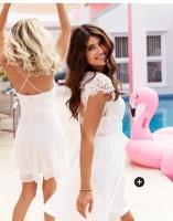 Hvite kjoler til sommeren