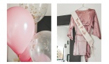 Bridal Pink robe from Bubbleroom