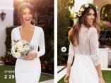 Evita brudekjole fra Chiara Forthi