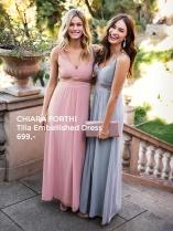 Chiara Forthi Tilia Embellished Dress Powder Pink
