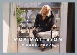 """Sammen med Moa Mattsson har vi laget den mest perfekte """"dag til natt"""" -kolleksjonen. Klassiske plagg som feminine bluser, jumpsuits og strikkede sett gjør deg klar til å dra direkte fra kontoret til AW."""