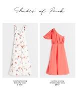 off shoulder toppe og on shoulder kjole fra Carolina Gynning X Bubbleroom