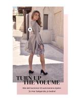 Turn up the volume. Når det kommer til sommerens kjoler: Jo mer bølgende, jo bedre!