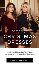 Shop julekjoler - Shop julegaver! Festkjoler