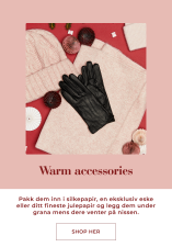 Warm accessories for winter, find your christmas gift - Shop her