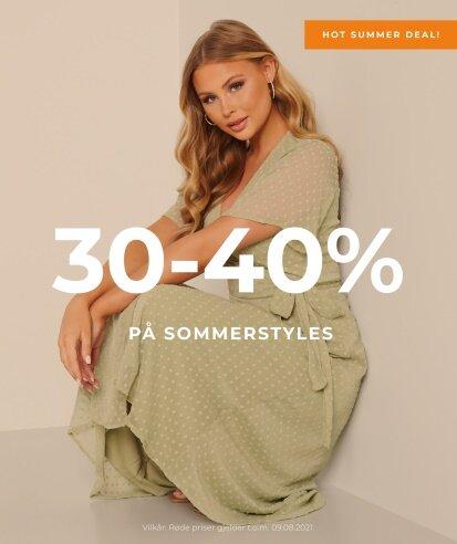 30-40 % på sommerstyles - Shop her