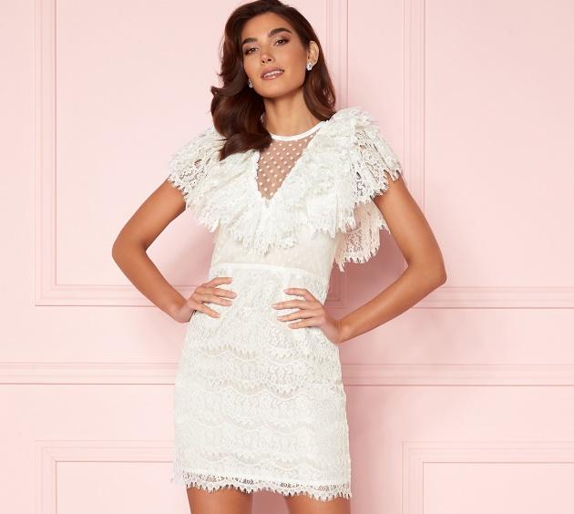 Shop hvite kjoler fra Bubbleroom