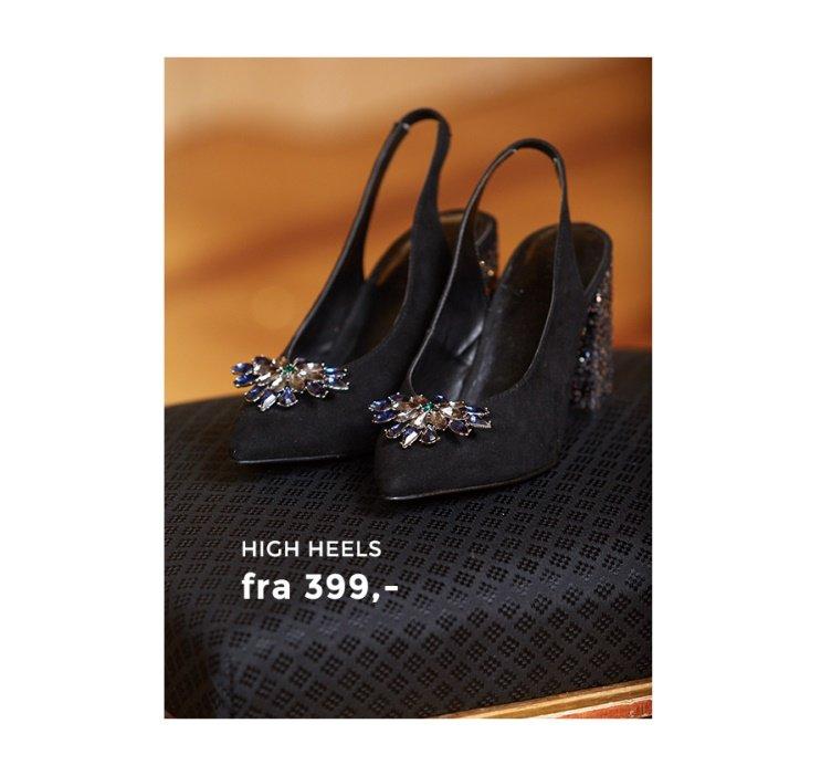 Shop pumps og sandaletter