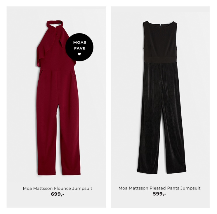 Shop jumpsuits fra Moa Mattsson X Bubbleroom