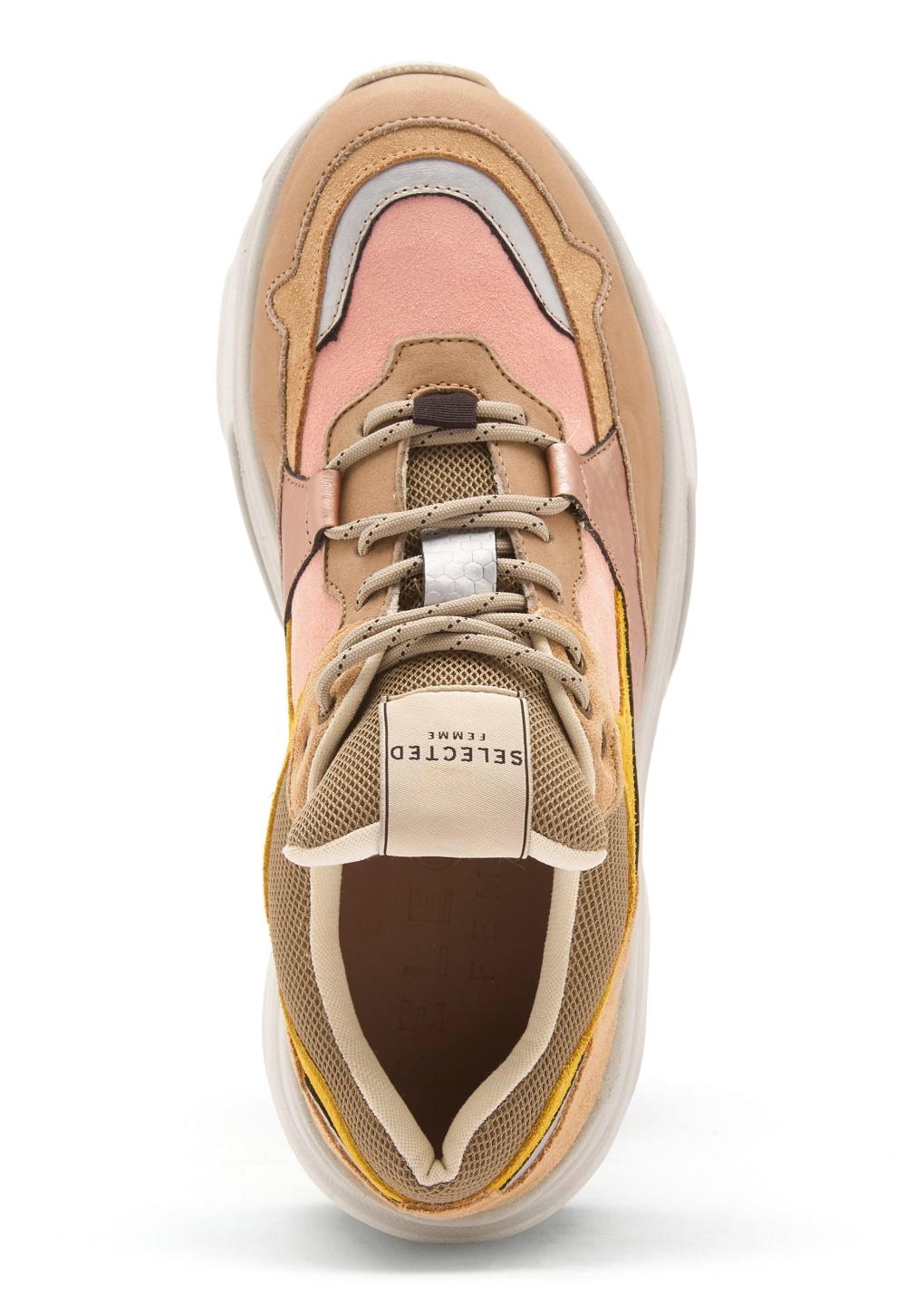 SELECTED FEMME Gavina Trainer Shoes Heavenly Pink - Bubbleroom b365e2b3a8556
