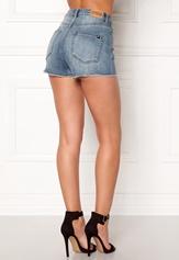 77thFLEA Felice high waist shorts Medium blue Bubbleroom.no