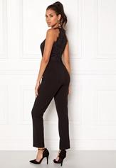 AX Paris High Neck Bodice Jumpsuit Black