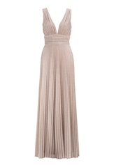 BUBBLEROOM Amalfi evening dress Champagne