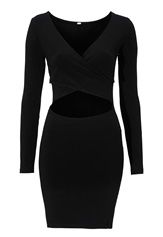 BUBBLEROOM Casino dress Black
