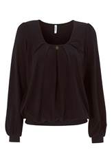 Chiara Forthi Crystal Top Black