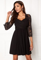 Chiara Forthi Nathalia Dress Black Bubbleroom.no